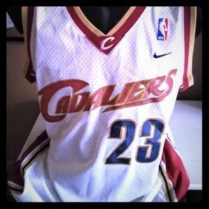 Vintage LeBron Rookie Jersey  Cavs 2003